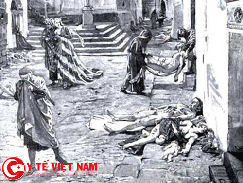 Bệnh dịch hạch gây ra hậu quả nghiêm trong trong lịch sử loài người