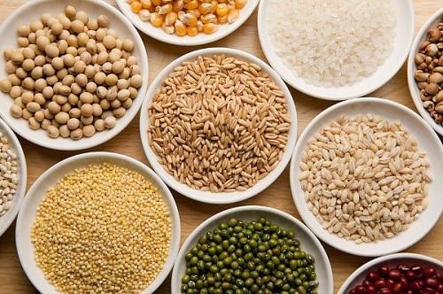 Người nhóm máu A nên ăn các loại hạt ngũ cốc, thực phẩm giàu tinh bột