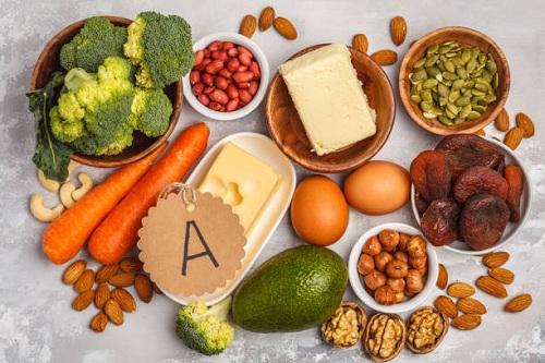 Nên bổ sung những thực phẩm giàu vitamin A