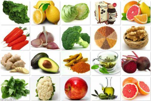 Tăng cường sử dụng các loại rau màu xanh để tăng cường giải độc gan