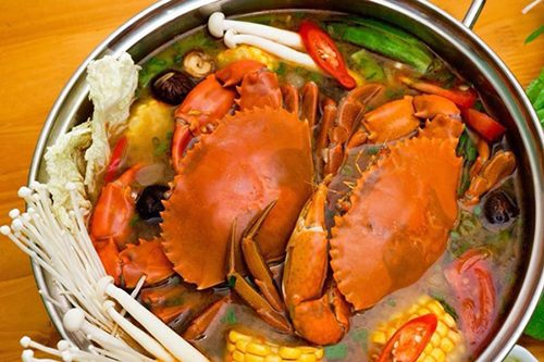 hải sản chứa rất nhiều protein