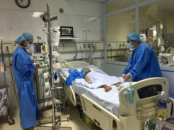 Bệnh nhân nhi 8 tuổi được ghép gan. Ảnh: VGP/Hiền Minh
