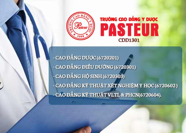 Các ngành đào tạo Trường Cao đẳng Y Dược Pasteur