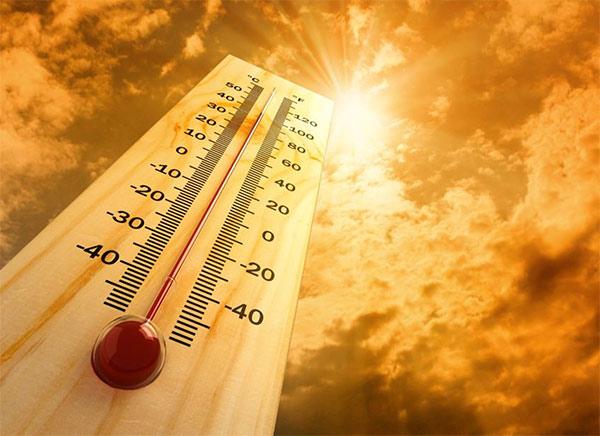 không nên làm việc quá lâu ngoài trời nắng hoặc trong môi trường nóng bức.