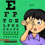 Nhược thị ở trẻ khiến trẻ có rất nhiều nguyên nhân khác nhau