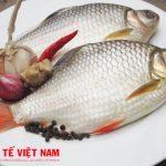 Món cá diếc nấu tỏi