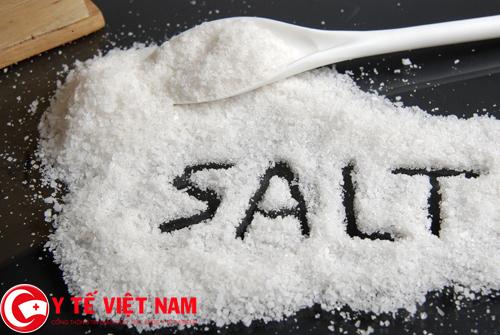Muối thực phẩm kiêng bị đối với bệnh ung thư thận