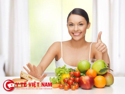Chế độ ăn uống lành mạnh giúp bạn căng da mặt hiệu quả
