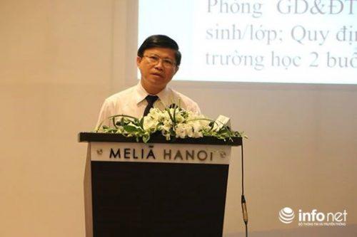 TS Phạm Văn Hùng – Giám đốc Sở GD&ĐT Thừa Thiên - Huế tại hội thảo