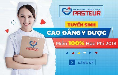 Học xét tuyển Cao đẳng Y Dược tại Trường Cao đẳng Y Dược Pasteur