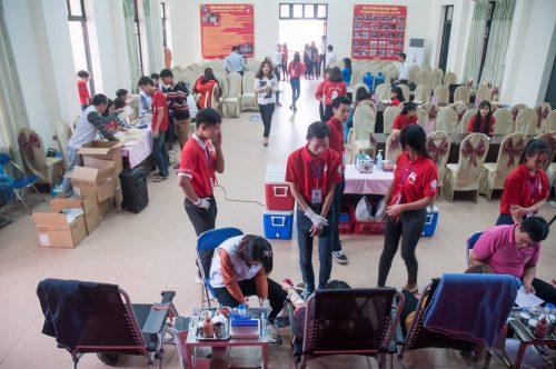 Sinh viên Y Dược nâng cao tinh thần hiến máu vì cộng đồng