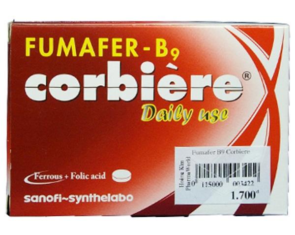Thuốc bổ máu Fumafer-b9 corbere