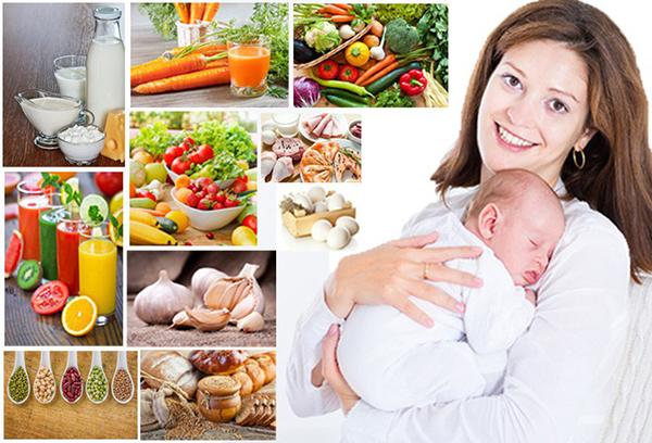 Bà mẹ cho con bú cần có chế độ dinh dưỡng như thế nào?