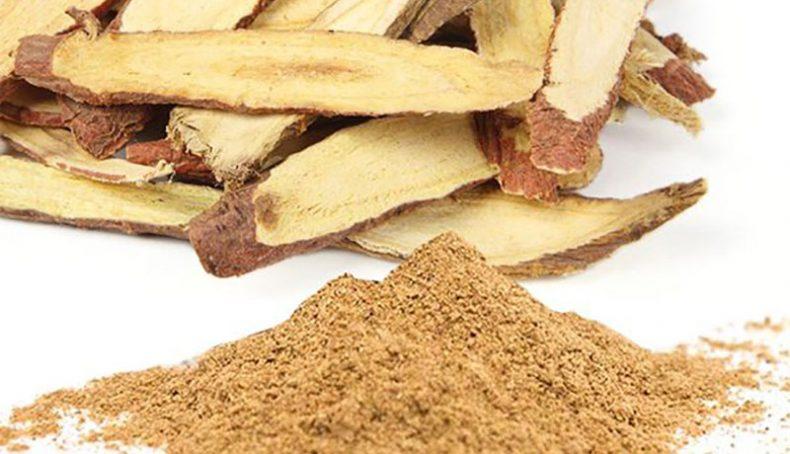 Cam thảo là vị thuốc nằm trong bài thuốc điều trị bệnh tay chân miệng