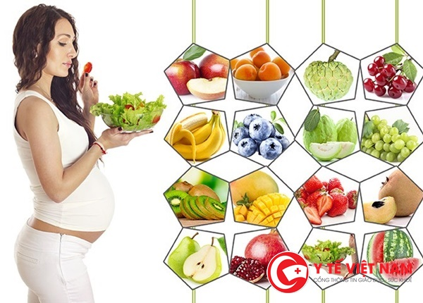Chế độ dinh dưỡng những tháng cuối giúp mẹ khỏe con khỏe
