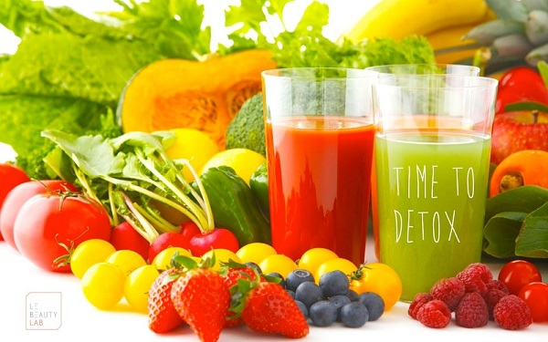 Các loại thực phẩm có tác dụng giải độc cơ thể