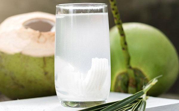 Nước dừa cung cấp chất điện phân cần thiết