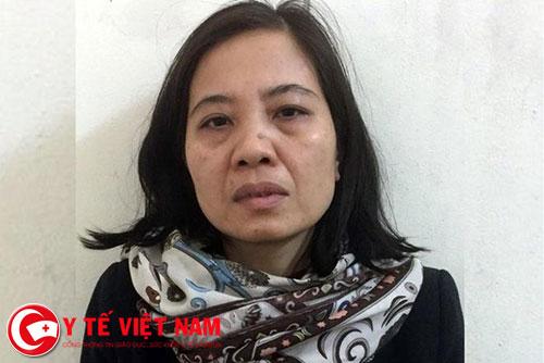 Bị can Nguyễn Thị Thu Thủy. Ảnh: Bộ Công an.