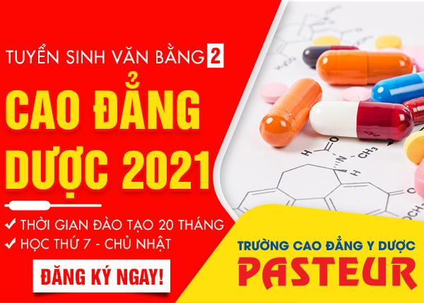 Bổ sung chỉ tiêu lớp văn bằng 2 Cao đẳng Dược tại Hà Nội năm 2021